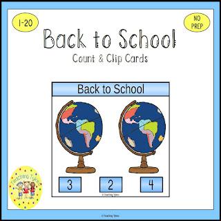 https://www.teacherspayteachers.com/Product/Back-to-School-Task-Cards-1176315