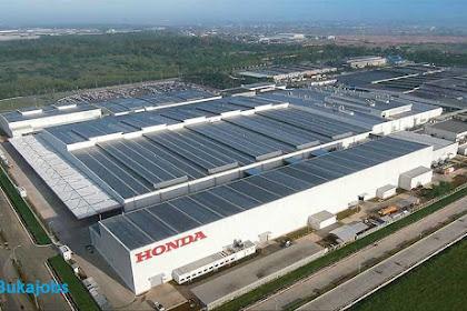 Lowongan Kerja PT Honda Prospect Motor Indonesia Terbaru 2019