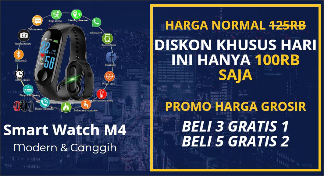 Smartwatch M4 - Jam Tangan Canggih a