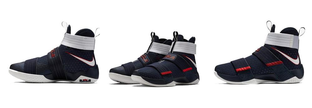 Sepatu Basket Nike Lebron Soldier 10 USA Original