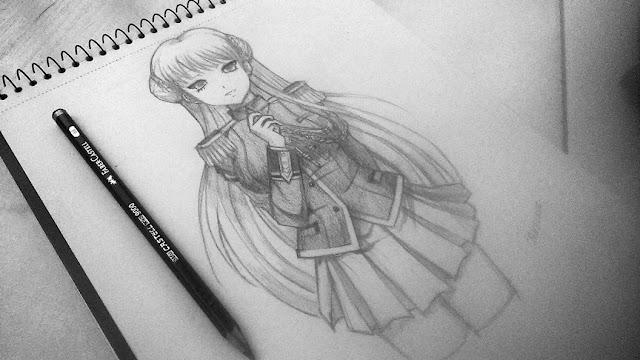 Dibujo de personaje
