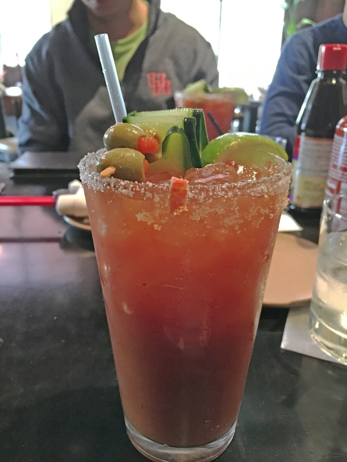 bloody mary at Pho District - A Vietnamese restaurant in Fort Worth, Texas
