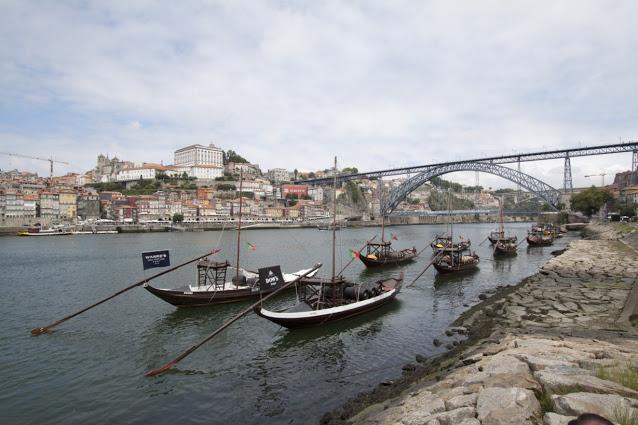 Vista di Porto e del Ponte de Dom Luìs I da Vila Nova de Gaia