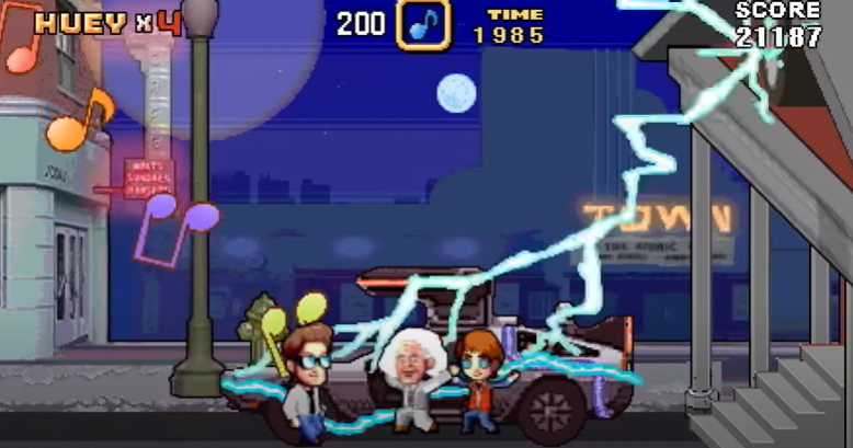 """Huey Lewis """"While We're Young"""" Music Video is a Retrogaming Delight"""