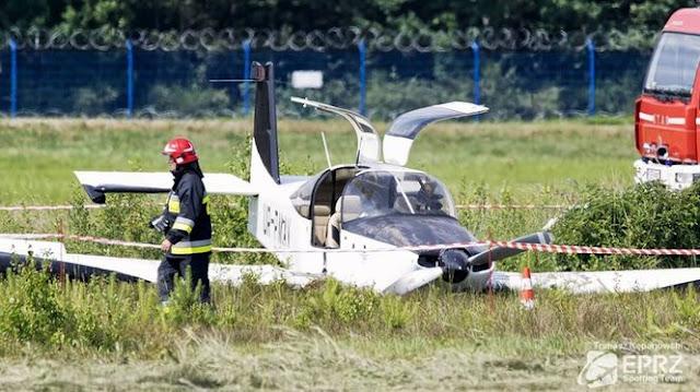 В аварії українського літака в Польщі постраждав нардеп Чижмарь