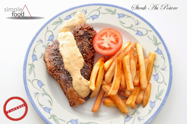 Steak Au Poivre ~ Simple Food