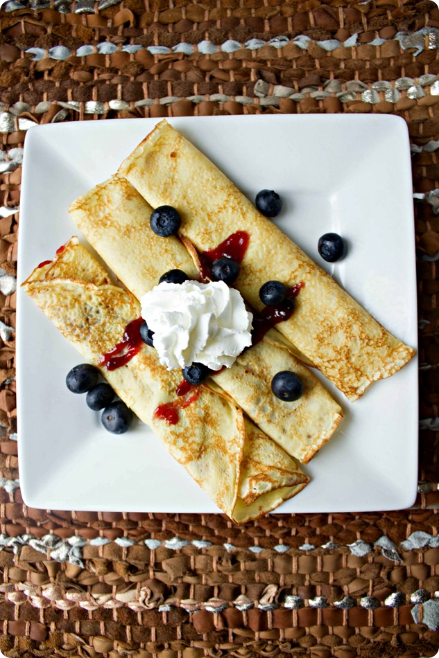 Light and Fluffy Crepes #Recipe