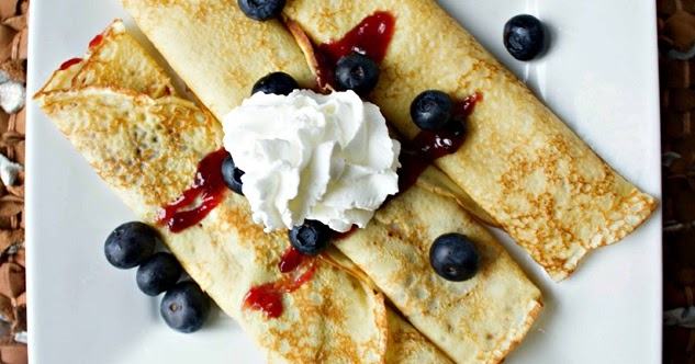 #Recipe : Light and Fluffy Crepes