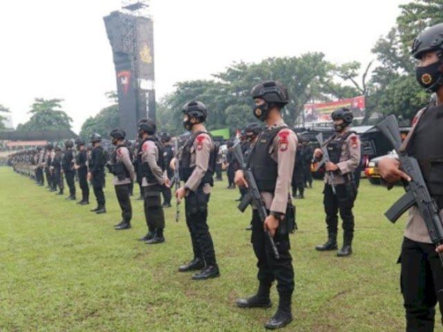 7.500 Personel Brimob Nusantara Diboyong ke Jakarta