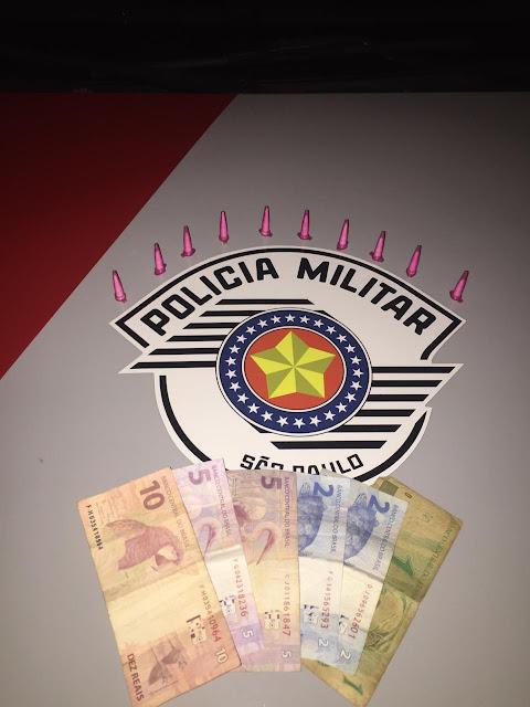 Policia Militar Prende Homem por trafico de entorpecentes em Adamantina