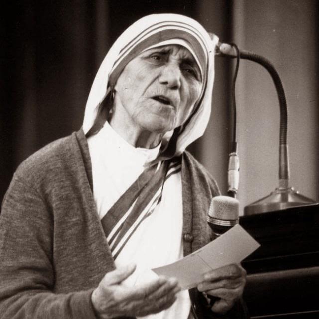 Most Influential Women Mother Teresa