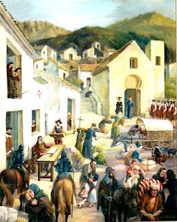 Los moriscos son expulsados de ciudades y aldeas. En el Reino de Valencia, suponían un tercio de la población.