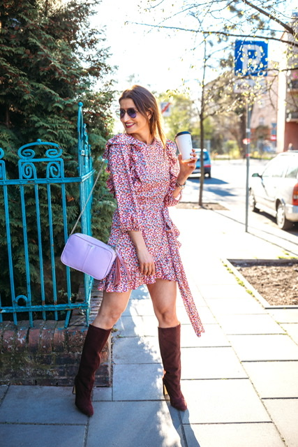 Dziewczęca i słodka sukienka idealna na wiosne * Hey Novamoda