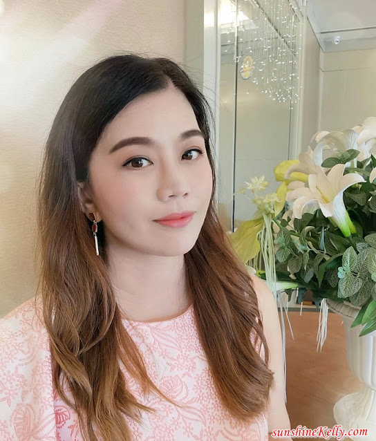 Mamonde New Makeup Look, Mamonde Holiday Collection, All Stay Foundation Glow, Flower Pop Blusher, Creamy Tint Color Balm Glide, Makeup, Beauty