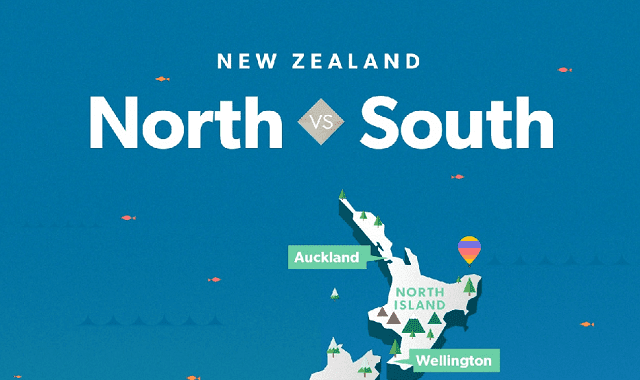 New Zealand: South Island Vs. North Island?