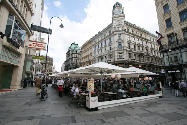 Il Graben-Strada pedonale-Vienna
