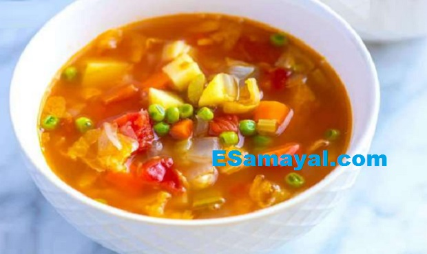 உருளைக்கிழங்கு கேரட் சூப் செய்வது | Potato Carrot Soup Recipe !