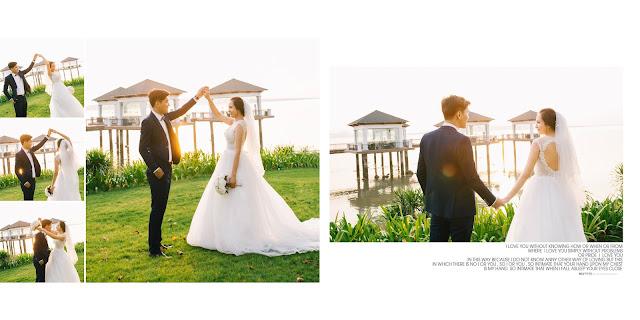 ảnh cưới chụp ở hạ long