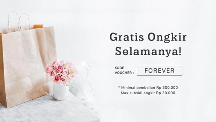 Qlapa - Promo Voucher Gratis Ongkir Selamanya Min Transaksi 300 Ribu