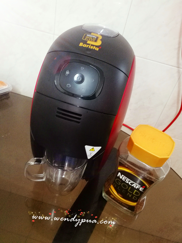 Nescafe Coffee Maker Reviews : Wendy Pua Malaysia Chinese Lifestyle Blogger: Nescafe Barista coffee Machine Review