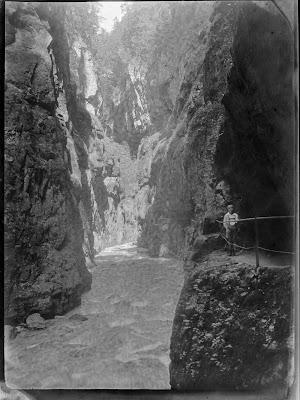 Blick in die Partnachklamm - 1920-1940