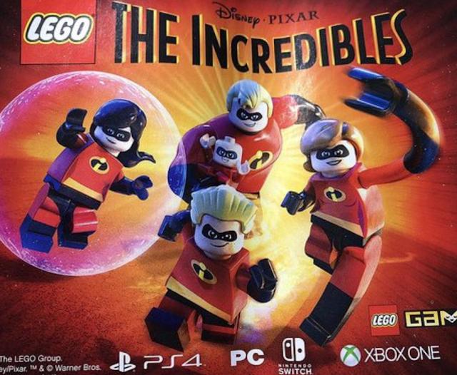 Se confirma LEGO Los Increíbles con una imagen