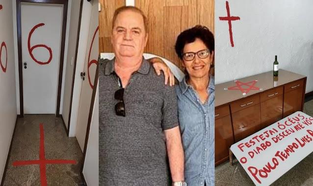 Pastor e esposa são mortos pelo filho; jovem deixou mensagens satânicas e se matou