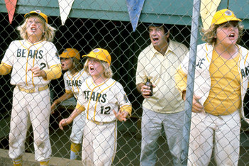 The top players are benched in the third act of THE BAD NEWS BEARS (1976) so that everyone gets a chance to play.
