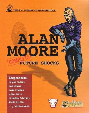 Cómic de ciencia ficción de Alan Moore