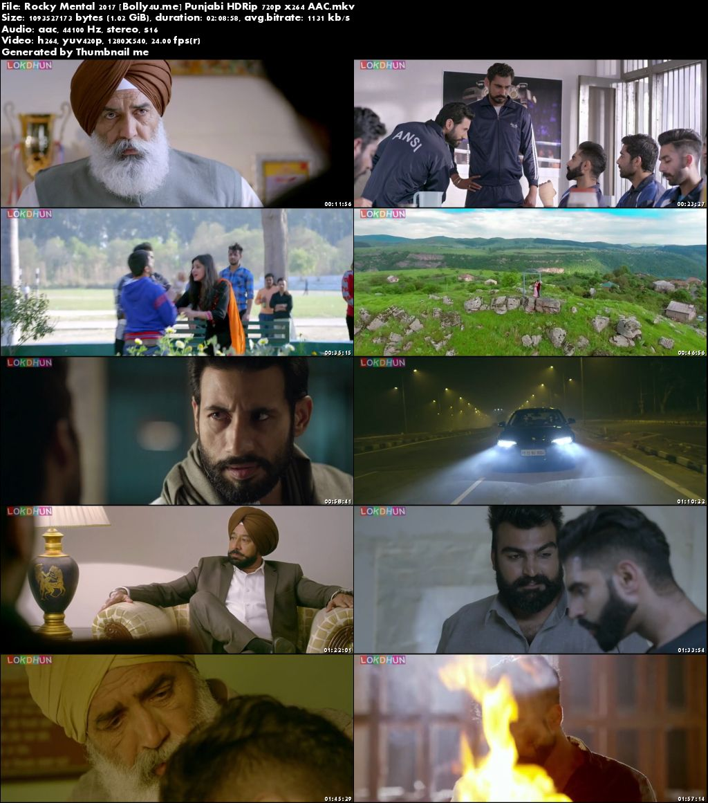 Rocky Mental 2017 HDRip 1GB Full Punjabi Movie Download 720p