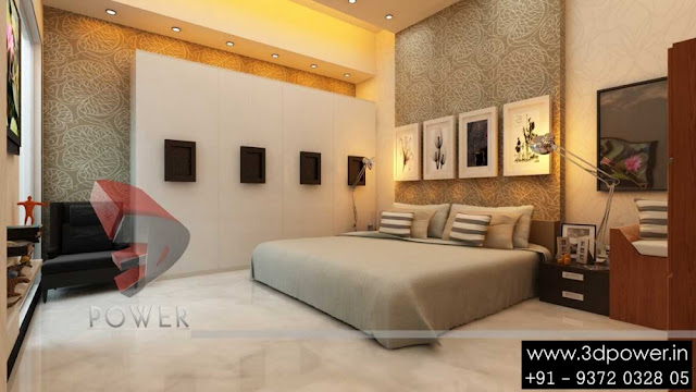 48d Animation 48d Rendering 48d Walkthrough 48d Interior Cut Section Simple 3D Bedroom Design Property