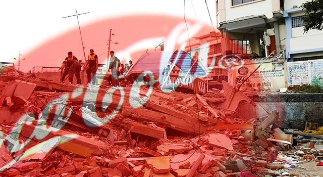 #EcuadorALevantarse @CocaColaEC suspende inversión en publicidad y anuncia aportes a damnificados
