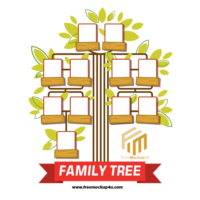 Hand Drawn Family Tree Family