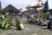 TNI Polri Ngayah di Pura Ulundanu Batur