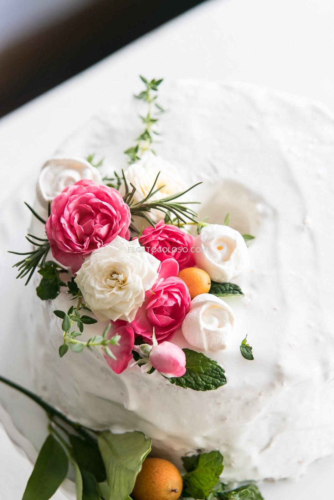 Receta para el dia de las madres chiffon de rosas via elgatogoloso.com