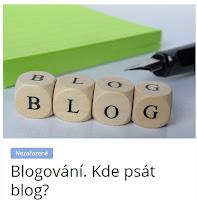 Blogování. Kde psát blog? - AzaŽurnál