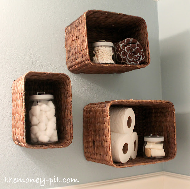 baskets for bookshelves - Baskets For Bookshelves