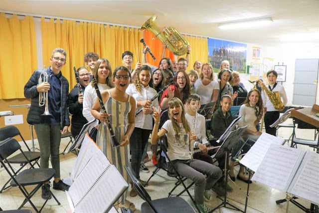 La%2BBandita%2Bde%2BP%25C3%25A1jara%2B%25281%2529 - Fuerteventura.- 'La Bandita' representa a Pájara en el encuentro de bandas juveniles de música de Ingenio