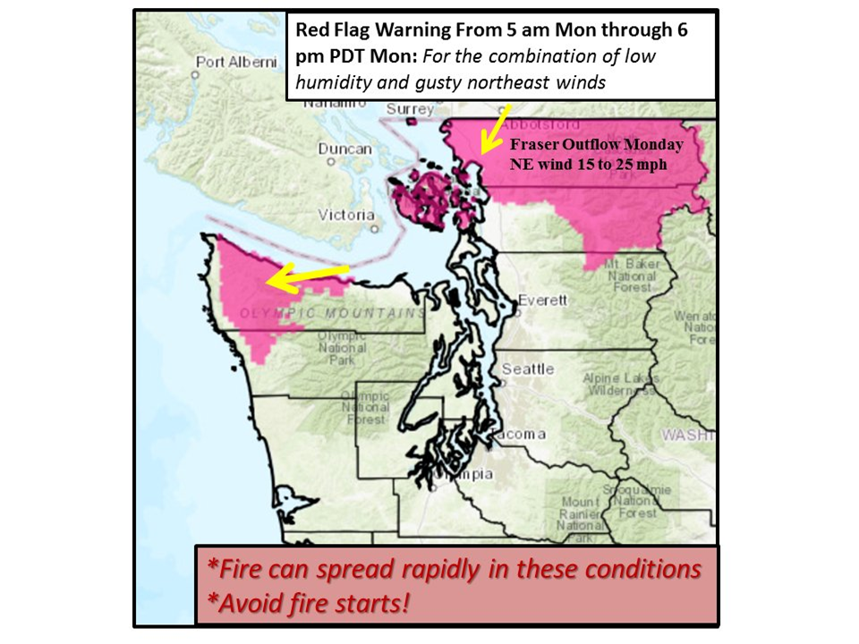 Washington Smoke Information Tell Us Plainly When Will The Smoke - Clear-us-map