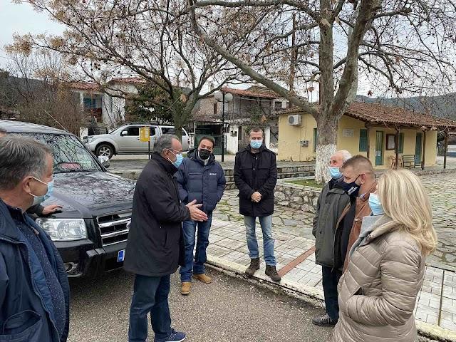 Στην Κοινότητα της Παλαιοκερασιάς ο Υπουργός Οικονομικών κ. Χρήστος Σταϊκούρας