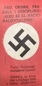partit nacional socialista català, nazi, esvástica