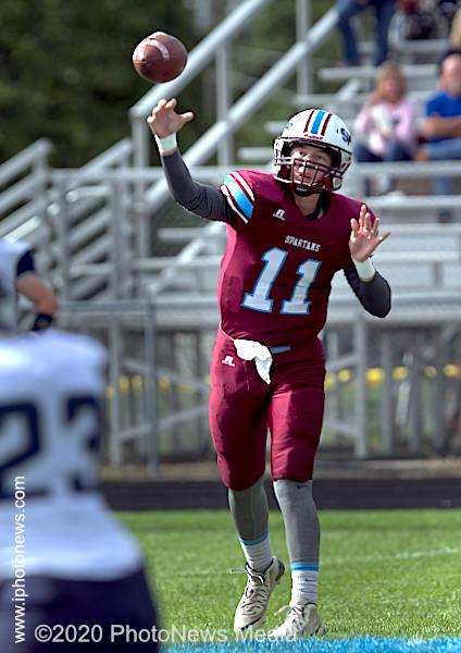 SJO quarterback Eli Oltean