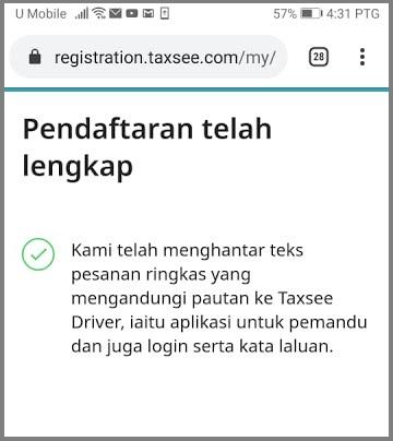 maxim malaysia driver