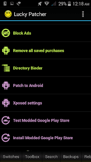 Lucky patcher apk hack