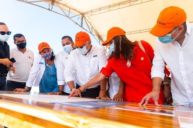 Este es el Gobierno en el que La Guajira va a tener la mayor inversión en desarrollo vial: Duque
