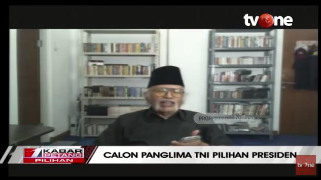 Panglima TNI Baru, Salim Said Sebut Andika Perkasa Penuhi Syarat tapi...