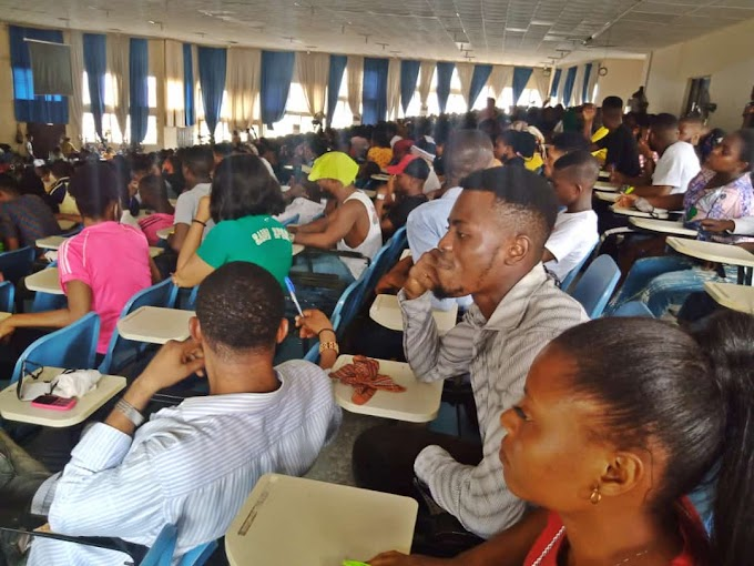 Unical exams: 3 Students faint in over populated exam hall without power supply