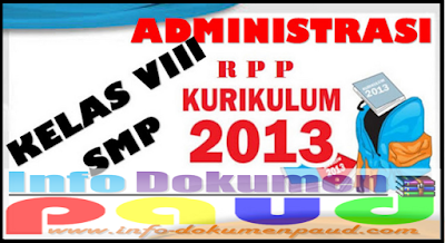 ADMINITRASU GURU SMP KELAS VIII RPP BAHASA INDONESIA VIII Terbaru 2018