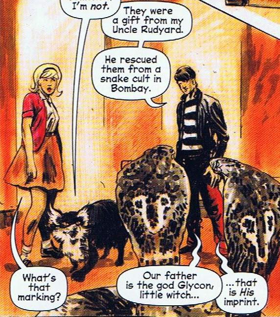 Resultado de imagem para chilling adventures of sabrina comic ambrose