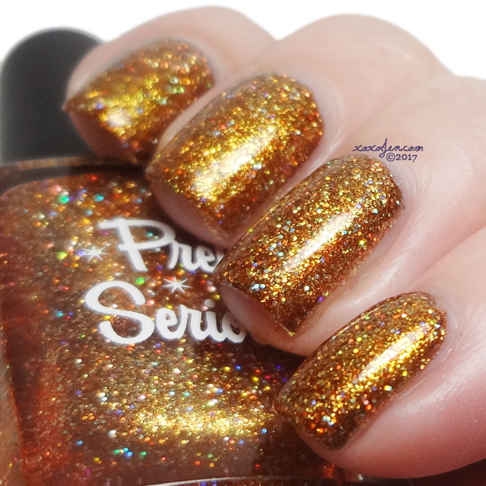 xoxoJen's swatch of Pretty Serious Wish You Were Beer